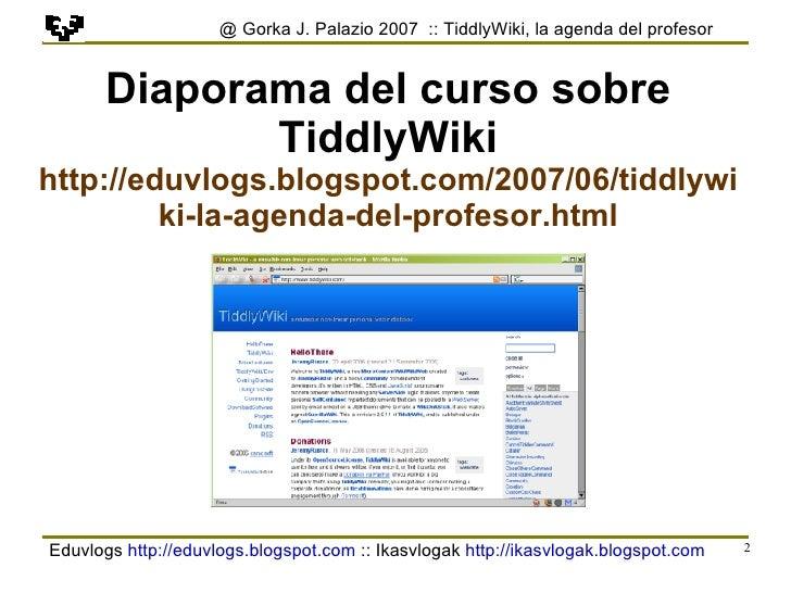 Tiddlywiki Es 4 Slide 2