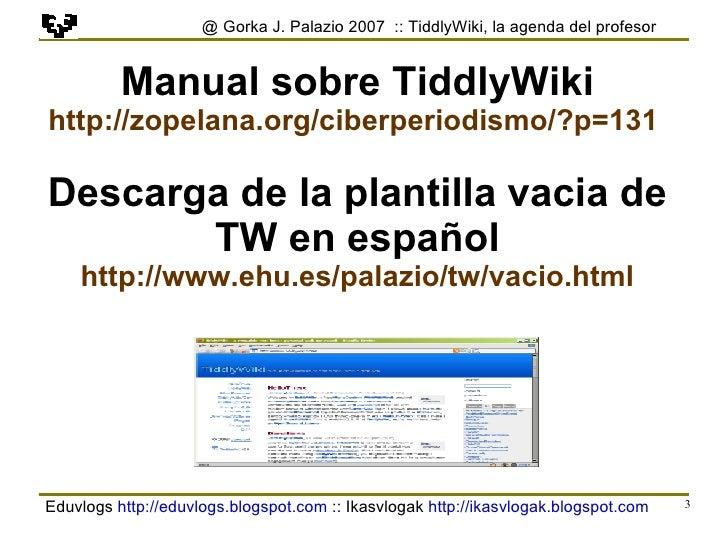 Tiddlywiki Es 4 Slide 3