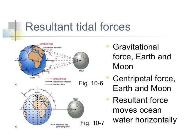 Tides 10 4 ab 4 resultant tidal forces gravitationalforce earth ccuart Gallery