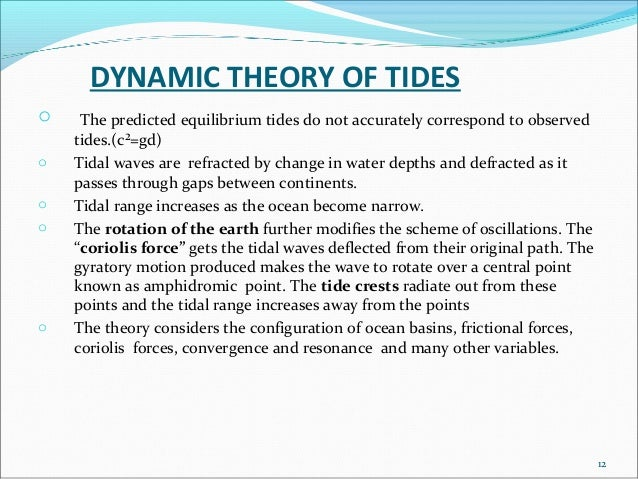 Changing with the Tide