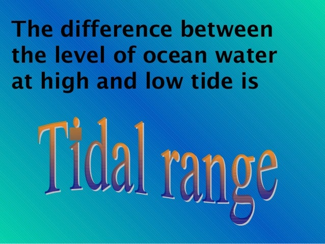 Tides notes ppt how many hours arethere between twohigh tides sciox Image collections