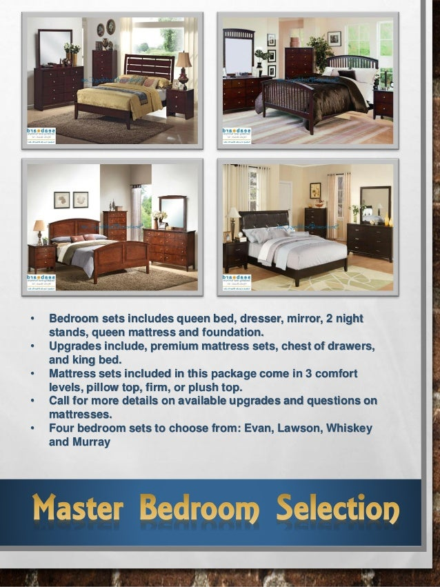 Tidewater 1 3 room furniture package for Furniture 3 room package
