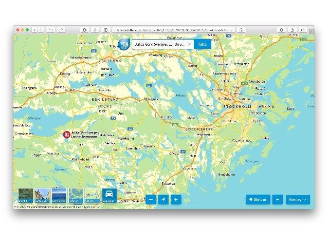 Tidskikaren –hur går vi från geografiska rådata till digital kunskapsförmedling? Slide 2