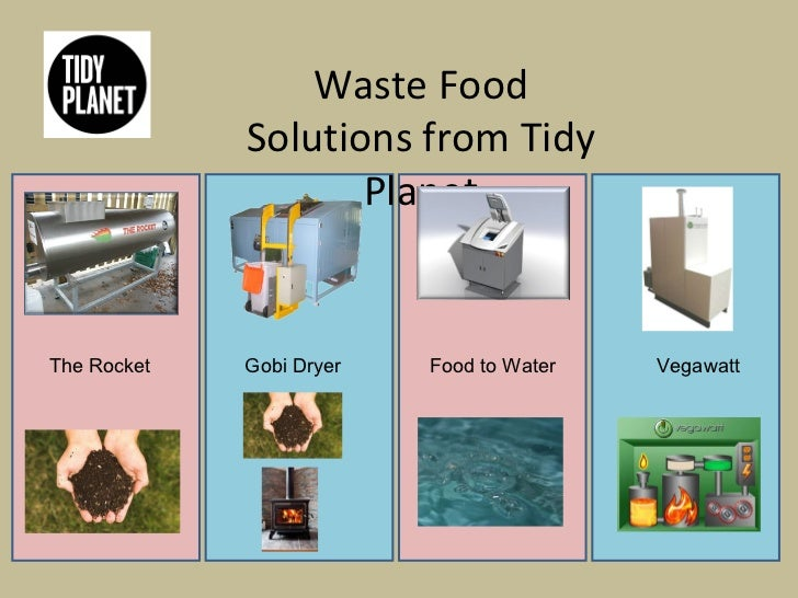Food waste solutions food for Solution cuisine