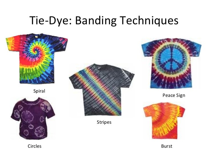 Tie dye batik powerpoint - Technique tie and dye ...
