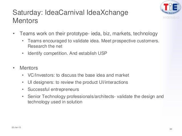 Saturday: IdeaCarnival IdeaXchange                                                                                HYDERABA...