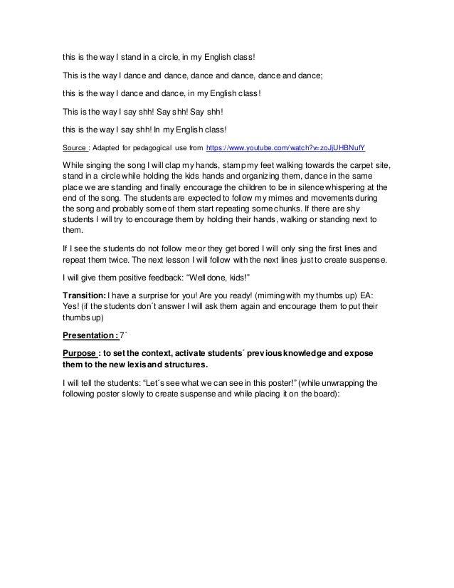 Lesson Plan 5 Cover Letter