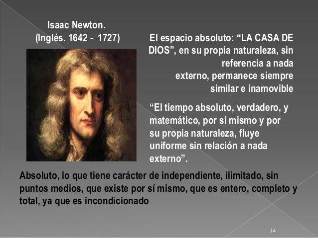 Resultado de imagen de El Tiempo de Newton