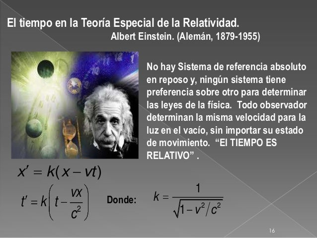 Resultado de imagen de El Tiempo de Einstein