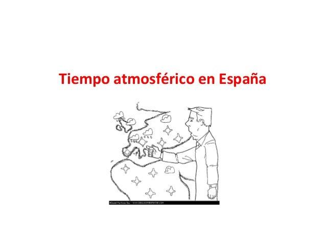 Tiempo atmosférico en España