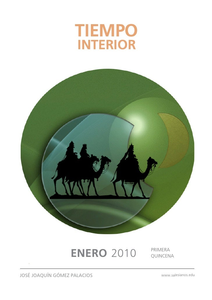 TIEMPO                      INTERIOR                                     PRIMERA                   ENERO 2010    QUINCENA ...