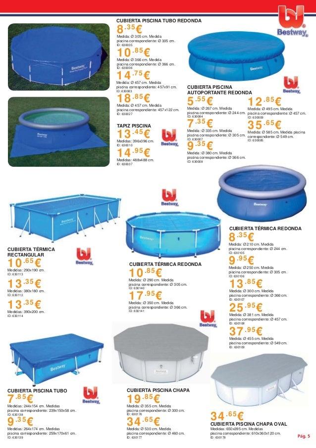 Cat logo de piscina y complementos bestway for Piscinas bricodepot