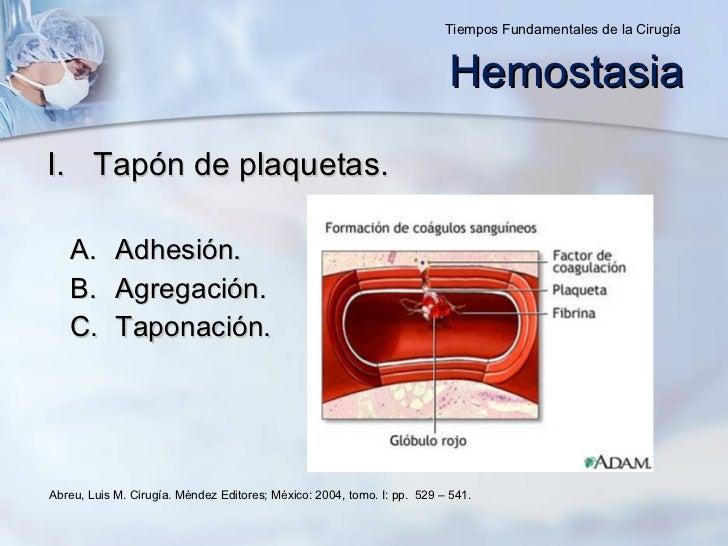 <ul><li>Tapón de plaquetas. </li></ul><ul><ul><li>Adhesión. </li></ul></ul><ul><ul><li>Agregación. </li></ul></ul><ul><ul>...