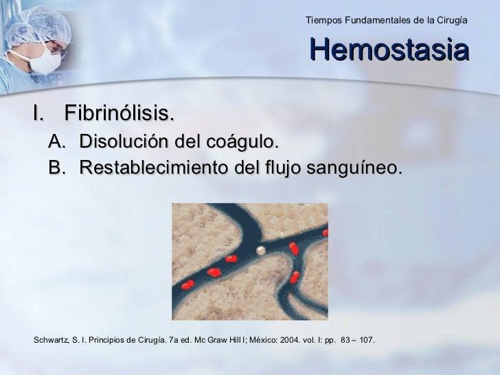 <ul><li>Fibrinólisis. </li></ul><ul><ul><li>Disolución del coágulo. </li></ul></ul><ul><ul><li>Restablecimiento del flujo ...