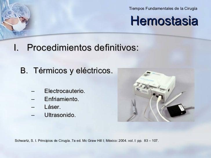 <ul><li>Procedimientos definitivos: </li></ul><ul><ul><li>Térmicos y eléctricos. </li></ul></ul><ul><ul><ul><ul><li>Electr...