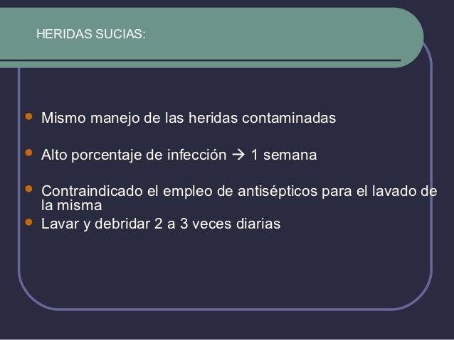 Evisceración Salida de vísceras a través de la herida