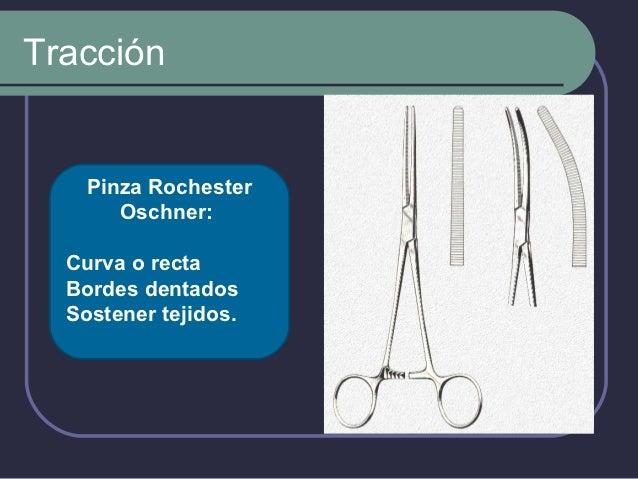 Tracción             Pinza Backhaus:           Añadir campos           estériles para           delimitar la región       ...