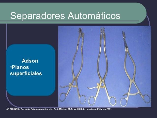 Separadores Automáticos    Pratt  Anoscopia