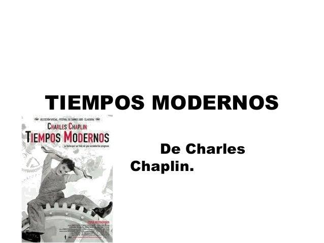 Tiempos modernos (chaplin) ciudadanía 6º 2013 2014