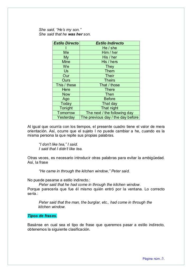 Tiempos Verbales En Ingles