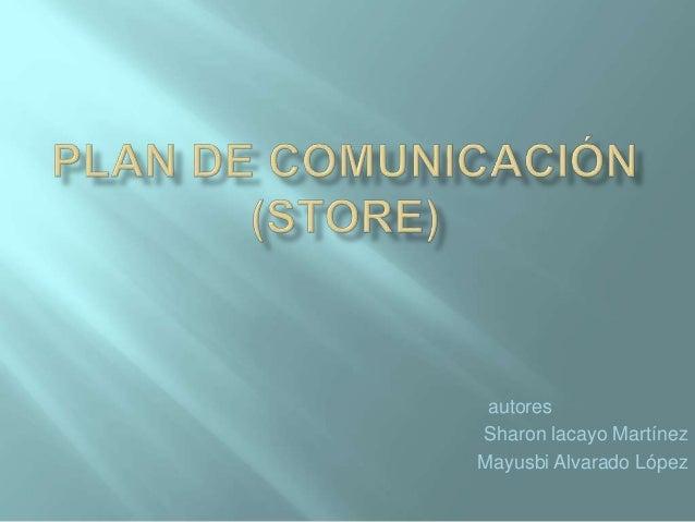 autores  Sharon lacayo Martínez  Mayusbi Alvarado López