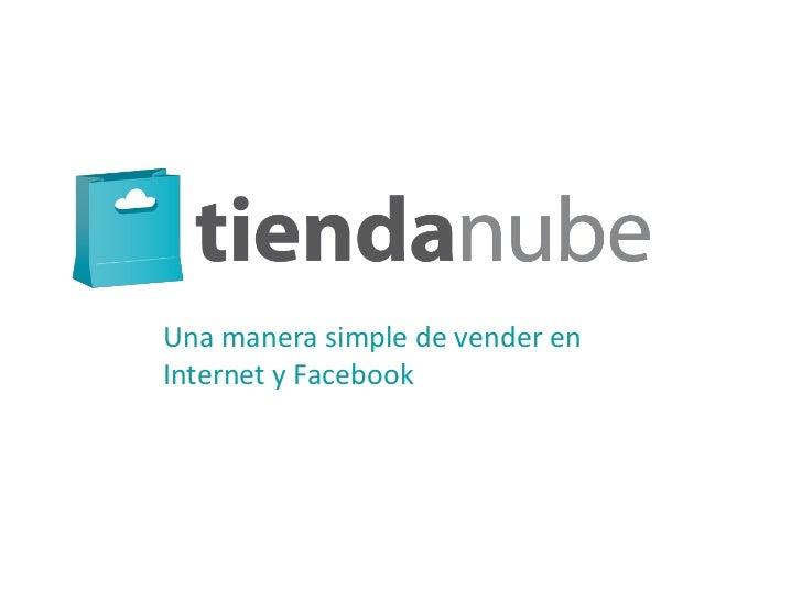 Una manera simple de vender enInternet y Facebook