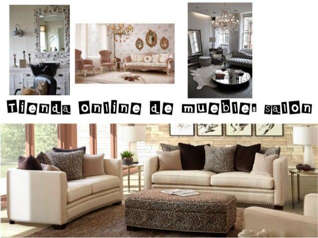 Tienda online de muebles salon for Portico muebles catalogo online