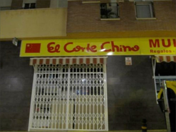 Spanish Humor: Chinese shops