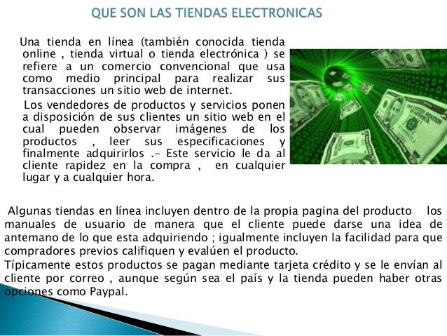 Tiendas electronicas Slide 2