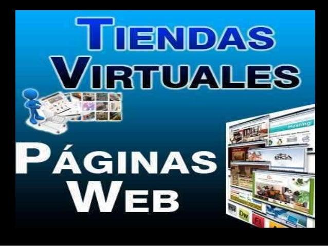 Tiendas virtuales Slide 2