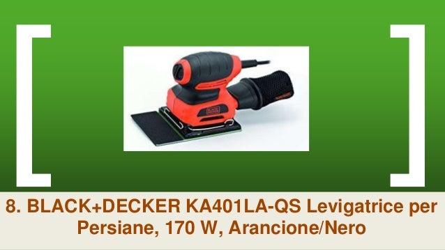 Black+Decker Levigatrice palmare multifunzione mouse 120W con borsa KA2000