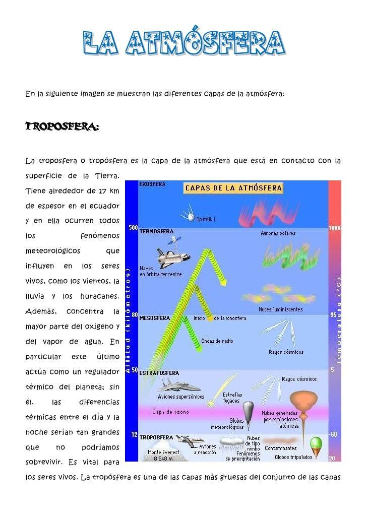 Tierra atmosfera geosfera y hidrosfera