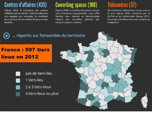 France : 597 tierslieux en 2012