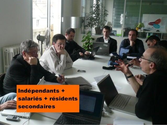Indépendants +salariés + résidentssecondaires