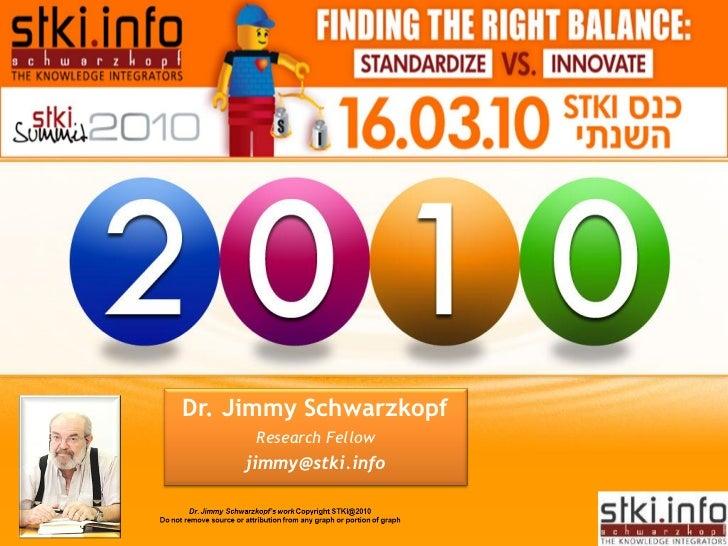 2010 STKI Summit       ENTERPRISE 3.0:      LIQUID MODERNITY      Dr. Jimmy Schwarzkopf       Research Fellow      jimmy@s...