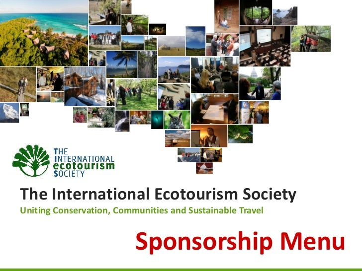 The International Ecotourism SocietyUniting Conservation, Communities and Sustainable Travel                          Spon...