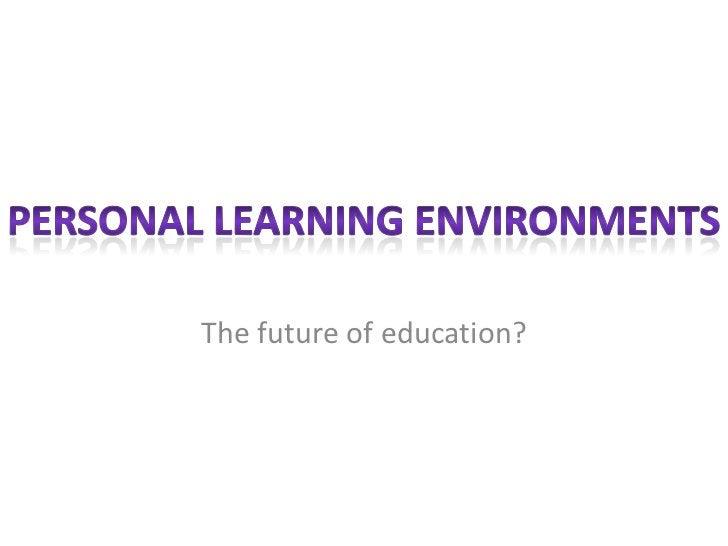 The future of education?