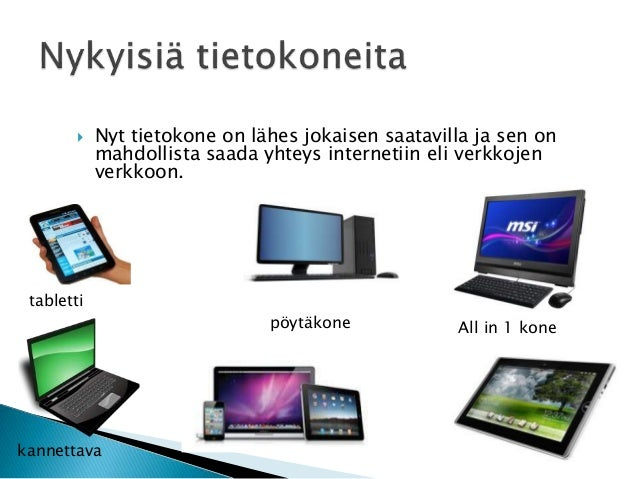 Tietokoneen Historia