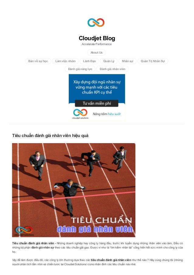 Cloudjet Blog Accelerate Performance About Us Bàn về sự học Làmviệc nhóm Lãnh Đạo Quản Lý Nhân sự Quản Trị Nhân Sự Đánh gi...