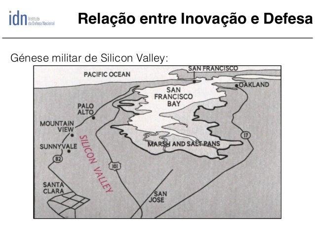 Relação entre Inovação e Defesa Génese militar de Silicon Valley:
