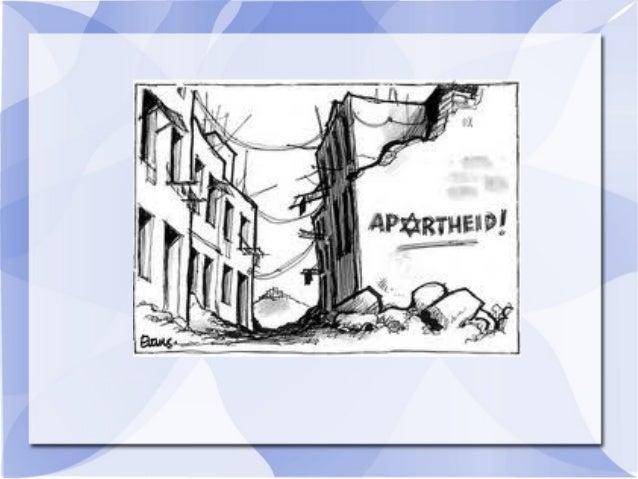O que é aprtheid?  Apartheid ''vida separada'' é uma palavra de origem africana, adotada legalmente na África do sul para...