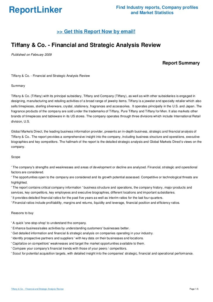 tiffany co analysis Tiffany & co successfully asserts trademark infringement claims against costco  a jury in tiffany and co v costco wholesale corp  in the court's lanham act infringement analysis.