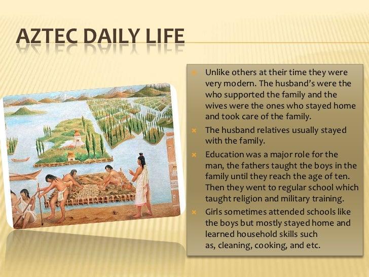 Tiffany Aztec Culture Slide 2