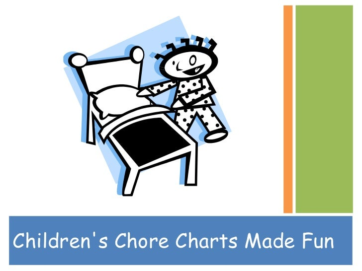 Children's Chore Charts Made Fun<br />