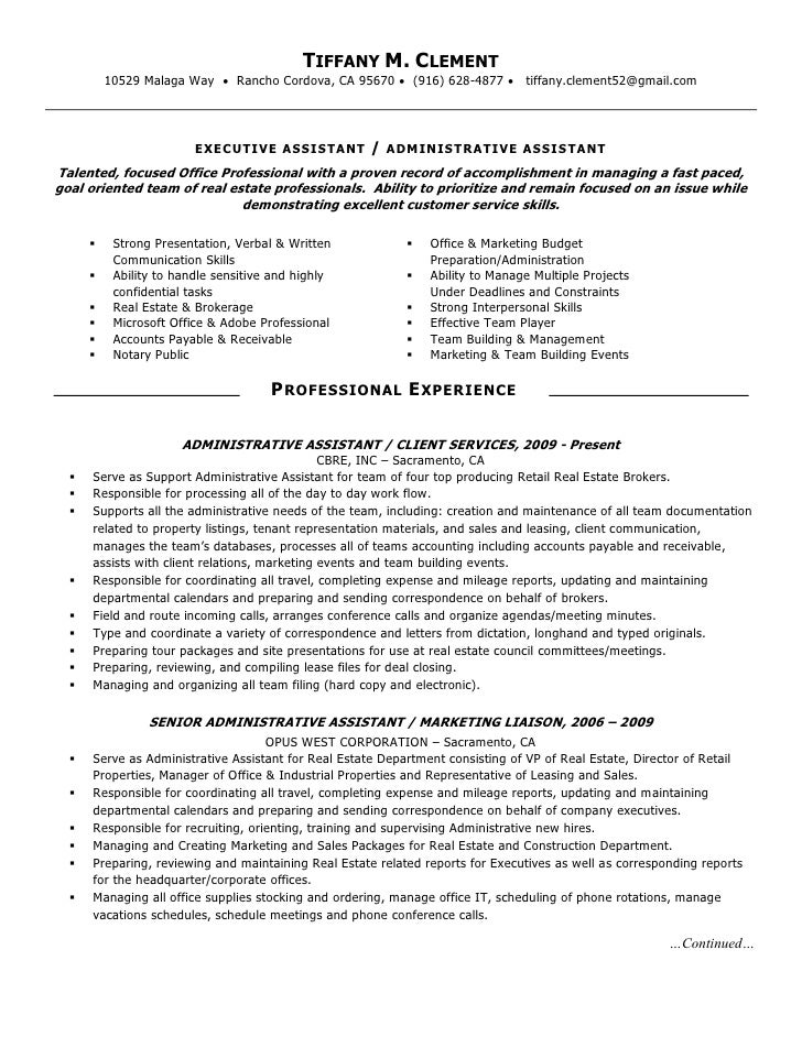 department store manager resume
