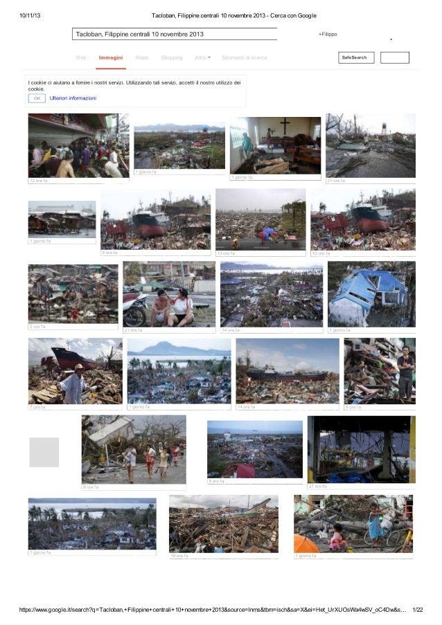 Tifone filippine citta tacloban