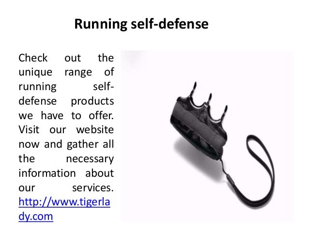 Running self-defense Check out the unique range of running self- defense products we have to offer. Visit our website now ...