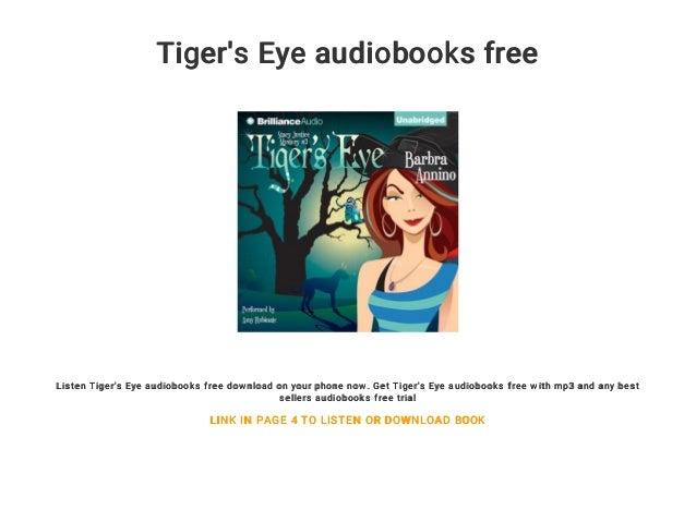 Tiger's Eye audiobooks free