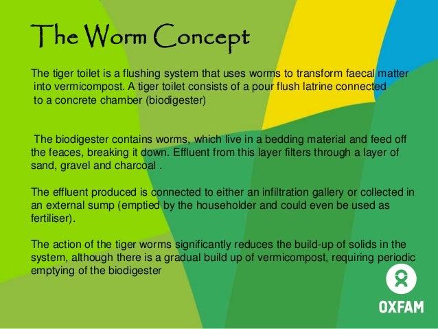 Tiger Worm Toilets Oxfam Public Health Engineering Webinar
