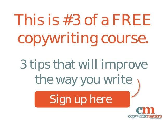 5 quick editing tips for better copywriting Slide 2